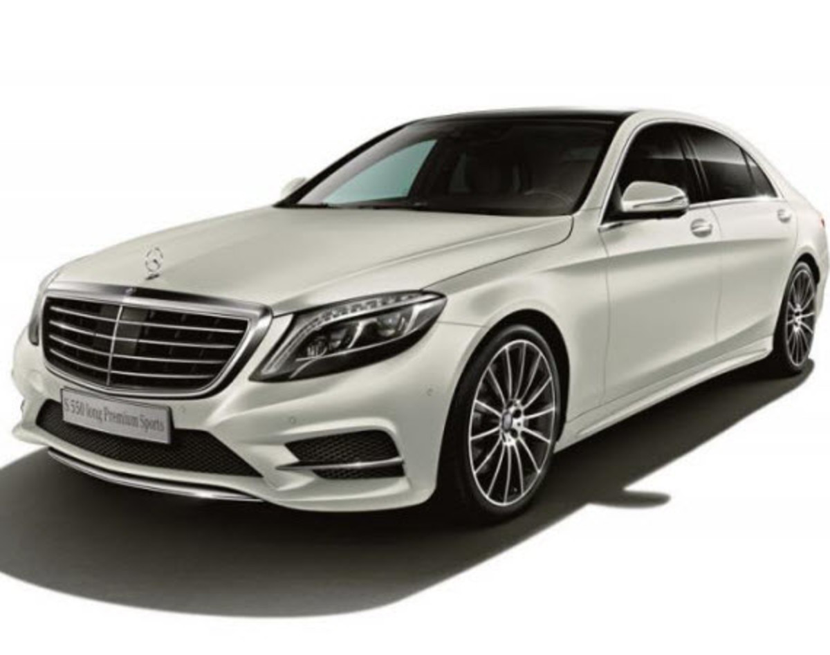 Mercedes benz s550 premium sports edition unveiled in for Mercedes benz japan