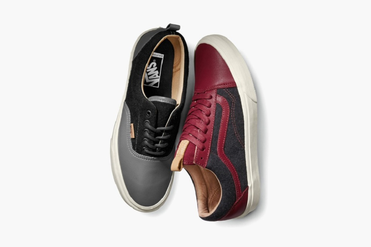 Vans Leather and Wool Pack for Fall 2015