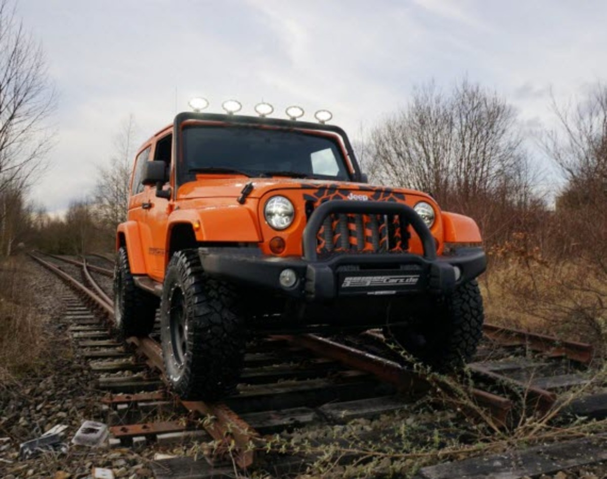 Jeep Wrangler With Hp Tuned By Geiger Cars