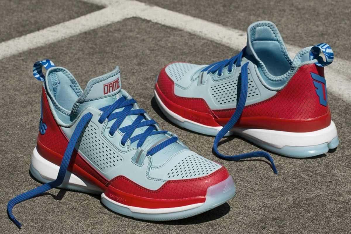 huge discount 39ed4 d5475 Paying tribute to the AAU program that helped make him the player he is  today, Damian Lillard and adidas have come together to unveil a special D  Lillard 1 ...