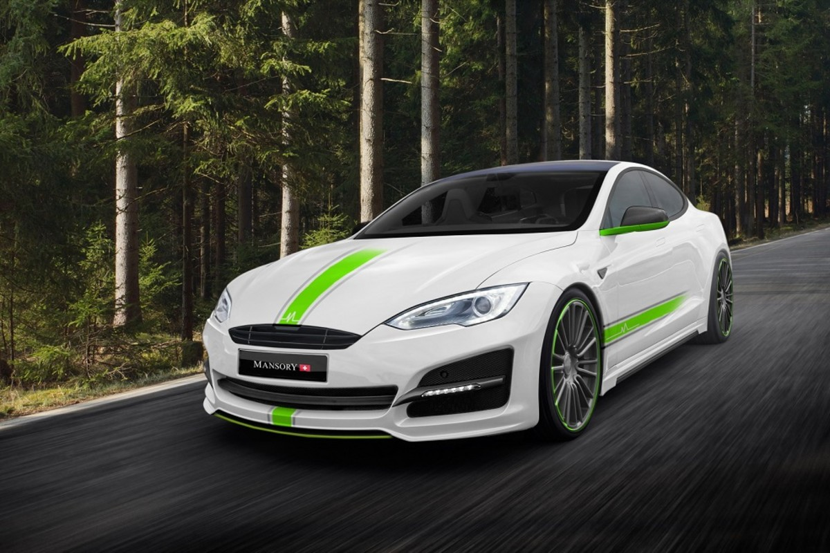 Mansory Takes on the Tesla Model S