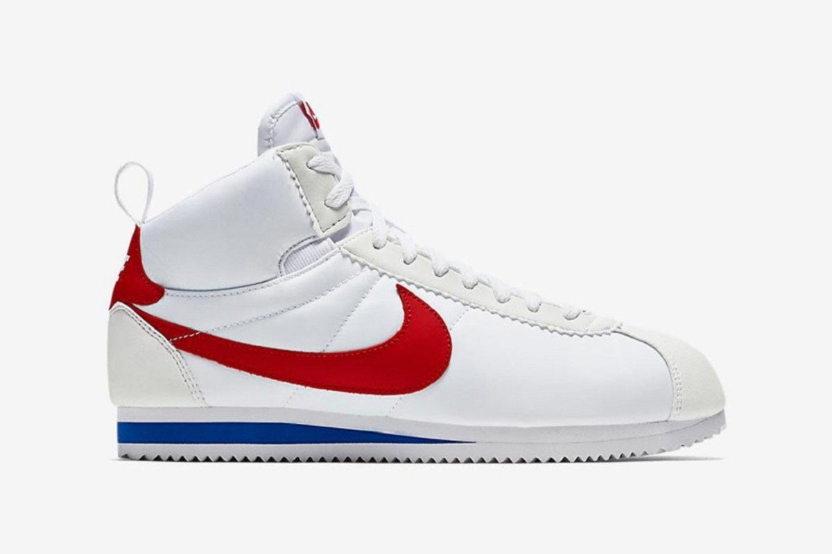 official photos 47d7c ad6d8 After returning in their original Bill Bowerman-crafted form a few weeks  back after a bit of a retirement, the Nike Cortez  72 is now back in a high- top, ...