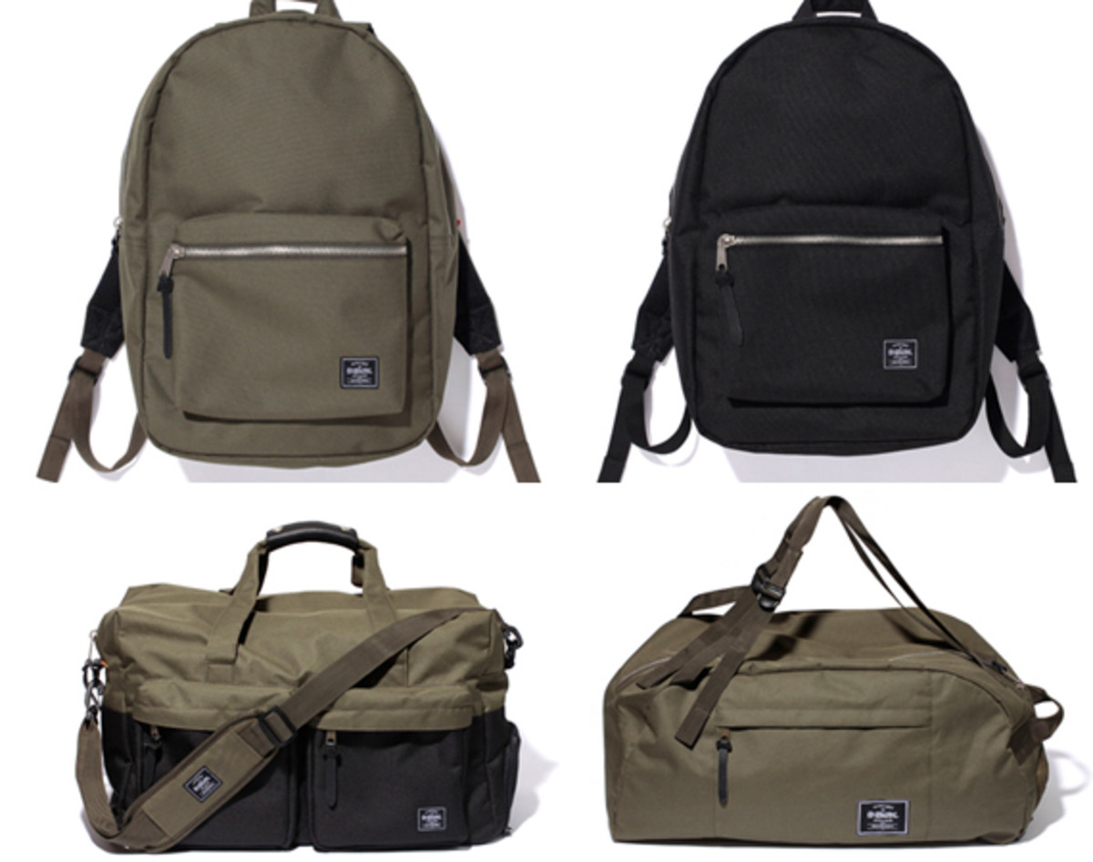 Stussy x Herschel Supply Co. - Bag Collection - Freshness Mag a5eefe6053e22