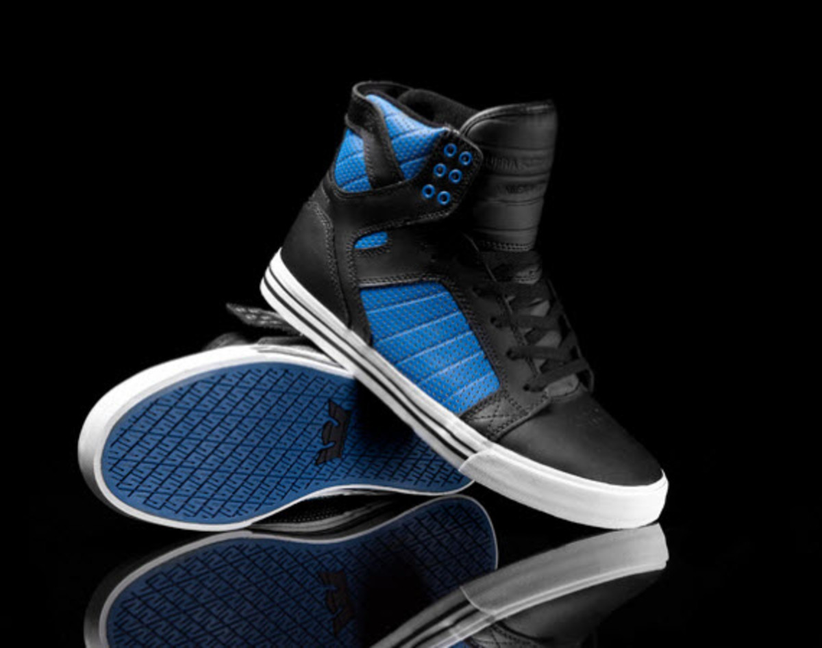 Skate shoes ankle support - Supra Continues To Expand Their Offerings Of Chad Muksa S Signature Skate Skate Shoe The Skytop For Summer 2012 Clearly Able To Provide Ample Ankle