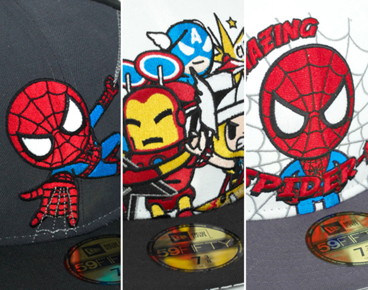 ea9ff056177 TOKIDOKI x Marvel x New Era 59FIFTY Fitted Caps Collection ...