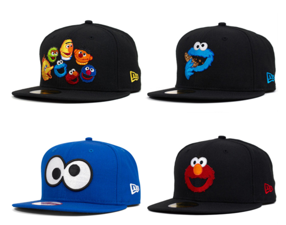 fe186719f83 sesame-street-new-era-cap-collection-00. A range of 59FIFTY and ...