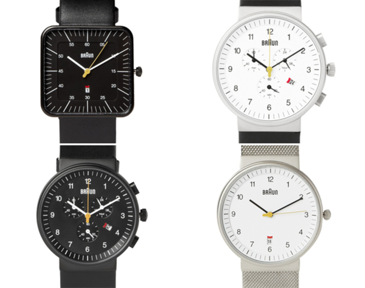 d0a6e37aa BRAUN - Watch Collection | By Dieter Rams - Freshness Mag