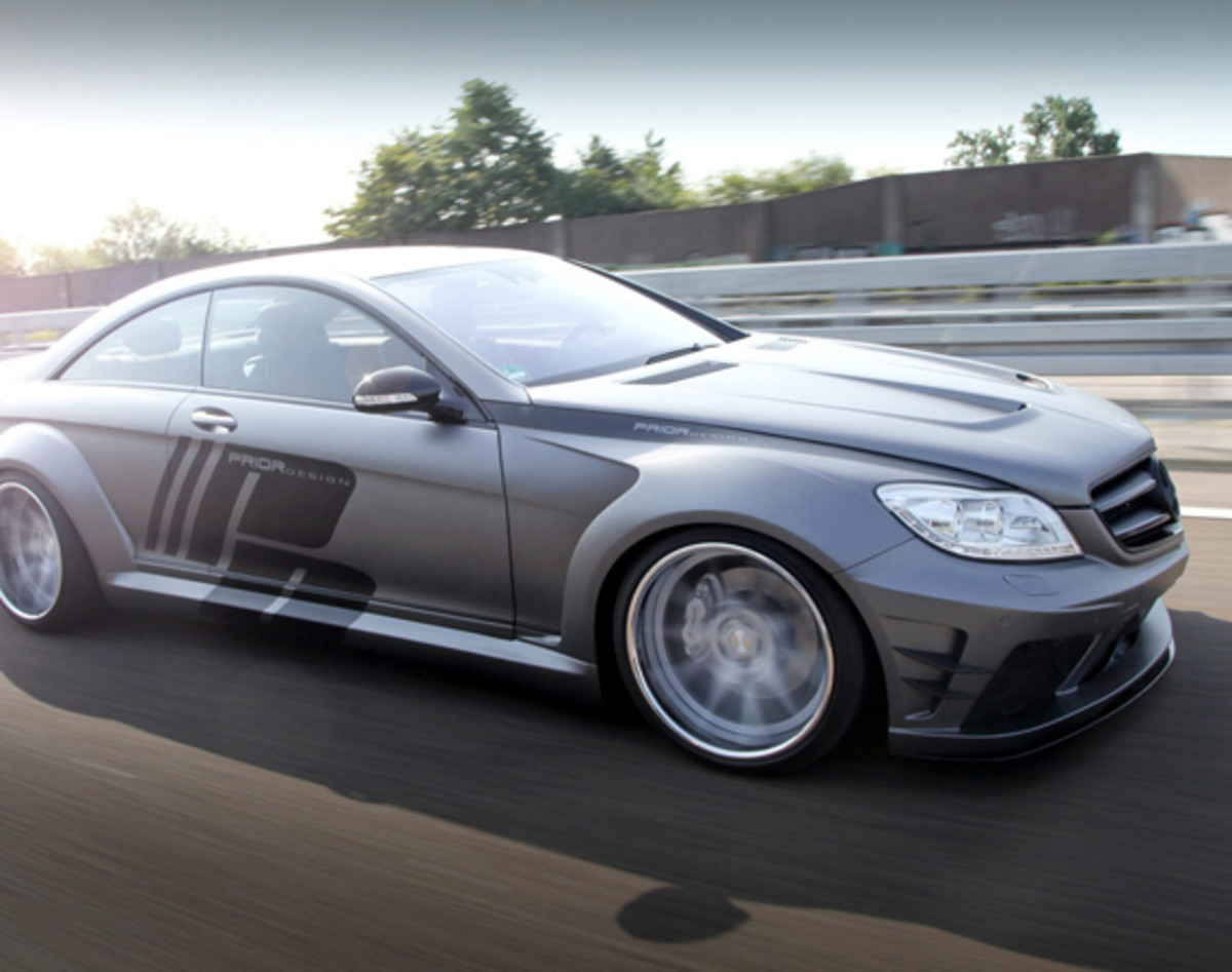 Mercedes benz cl class coupe by prior design for Mercedes benz cl coupe