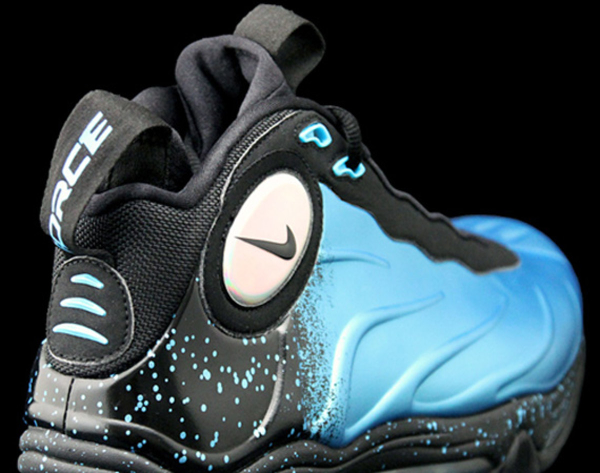 detailed look b3352 7e767 Nike Total Air Foamposite Max Blue-Black-Speckle - Freshness Mag