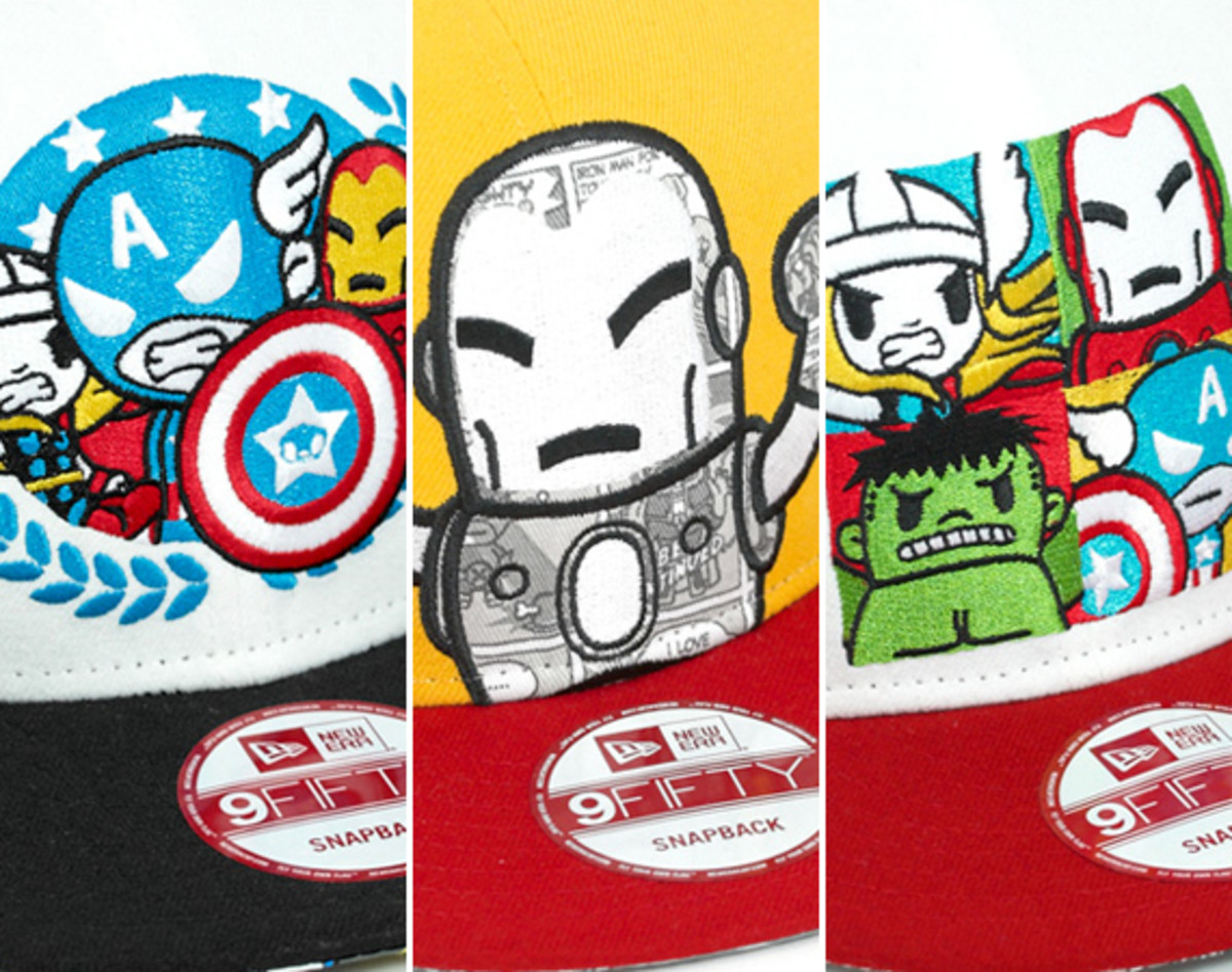 c909a087755 tokidoki-marvel-new-era-9fifty-snapback-caps-collection-. Complementing the TOKIDOKI  x Marvel x New Era 59FIFTY Fitted ...