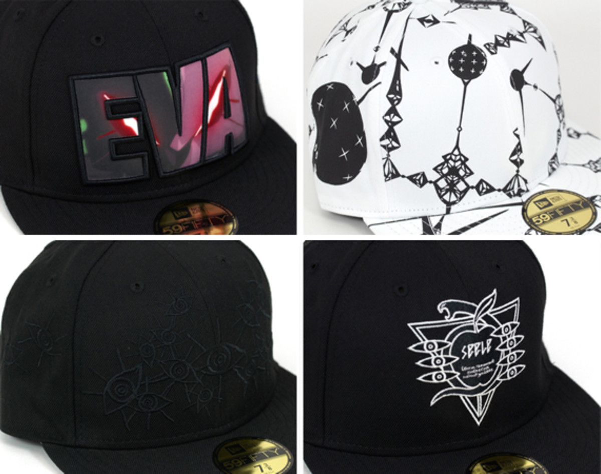 e31e4c9e6fb Neon Genesis Evangelion x New Era - 59FIFTY Fitted Caps Collection ...