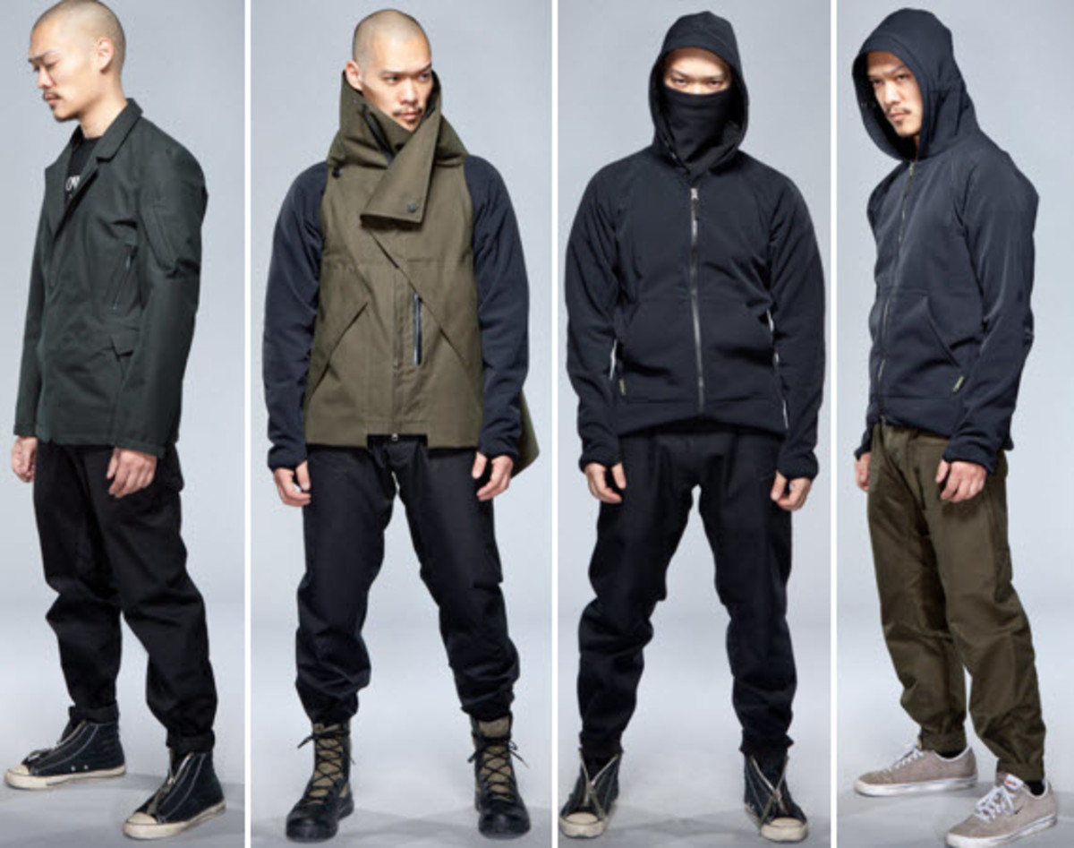 Acronym Fall Winter 2012 Collection Lookbook Freshness Mag