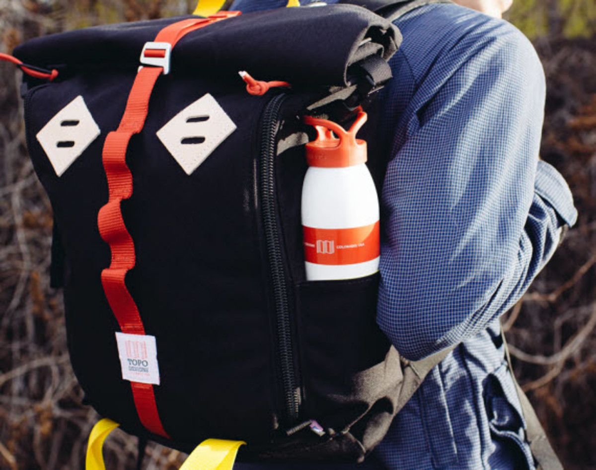 b17e5f3a8 Topo Designs' Roll Top is not just your run-of-the-mill backpack. This gem  has the right mixture of elegance and function, made for heavy hauling of  your ...