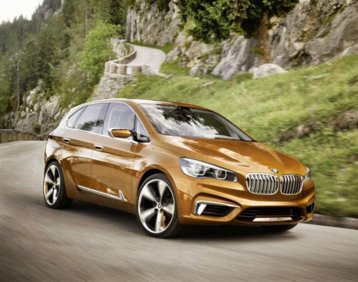 BMW Concept Active Tourer - Officially Unveiled