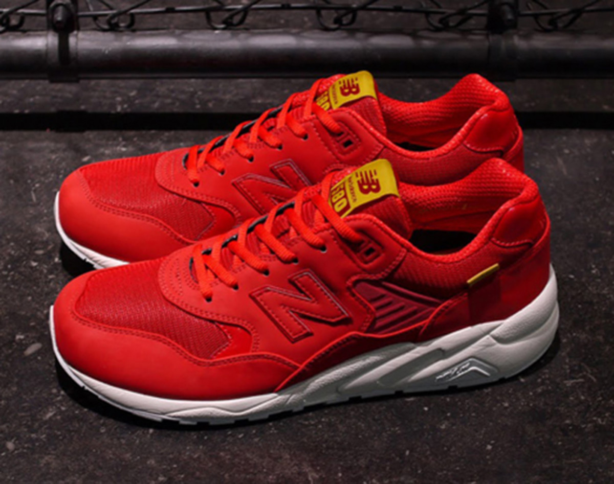 Exclusive New Balance MRT580 Red shoes onlin hot sale