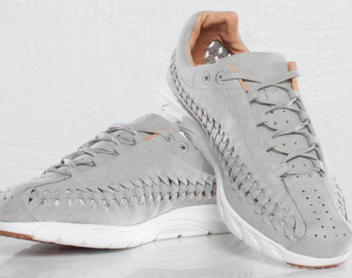 new arrivals 56eec fbad3 The Swoosh hits us with another stunning pair of Mayfly Woven s in a sold  Grey colorway. Coming under a Quickstrike release, the premium running  sneaker has ...