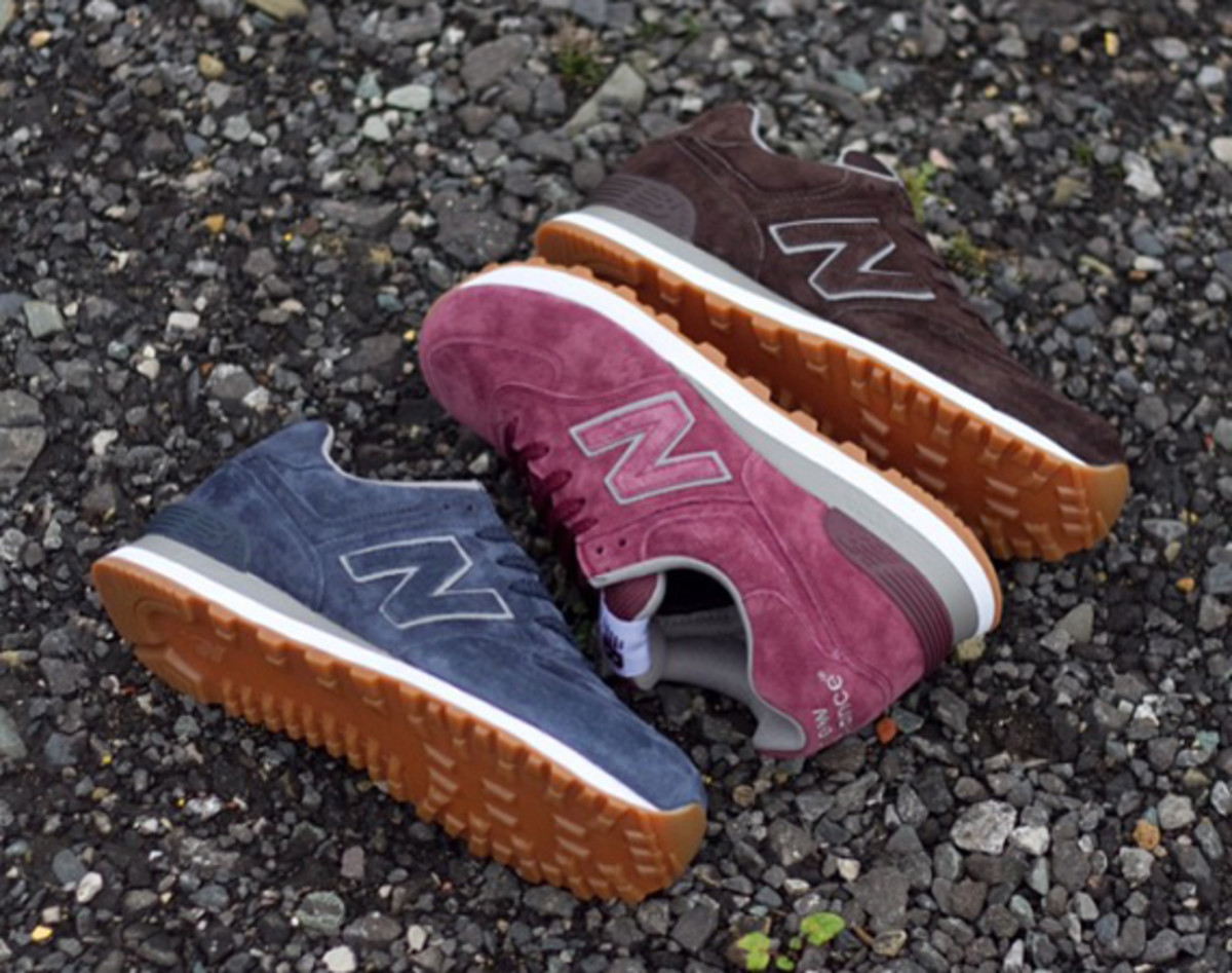 New Balance 574 - Mono Suede Pack