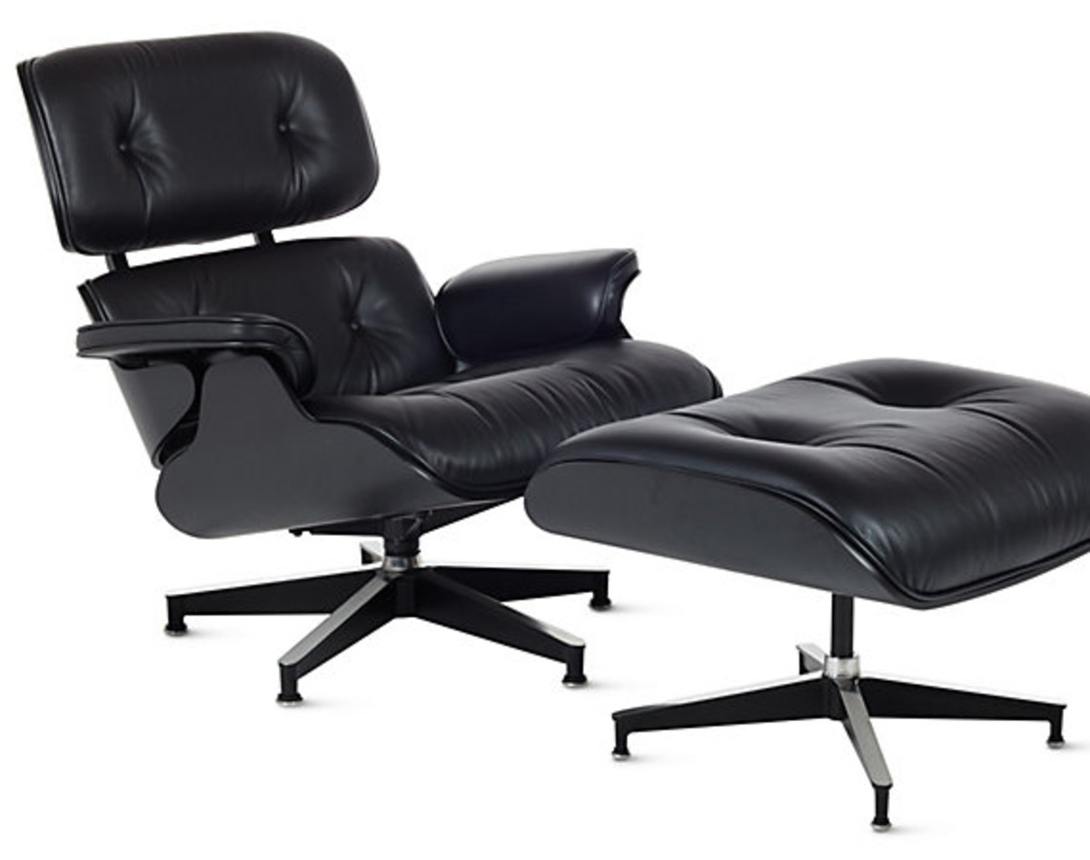 One Of The Signature Chairs From Charles And Ray Eames Is This Lounge Chair  And Ottoman Combination. It Has Withstood The Test Of Time In Terms Of Its  ...