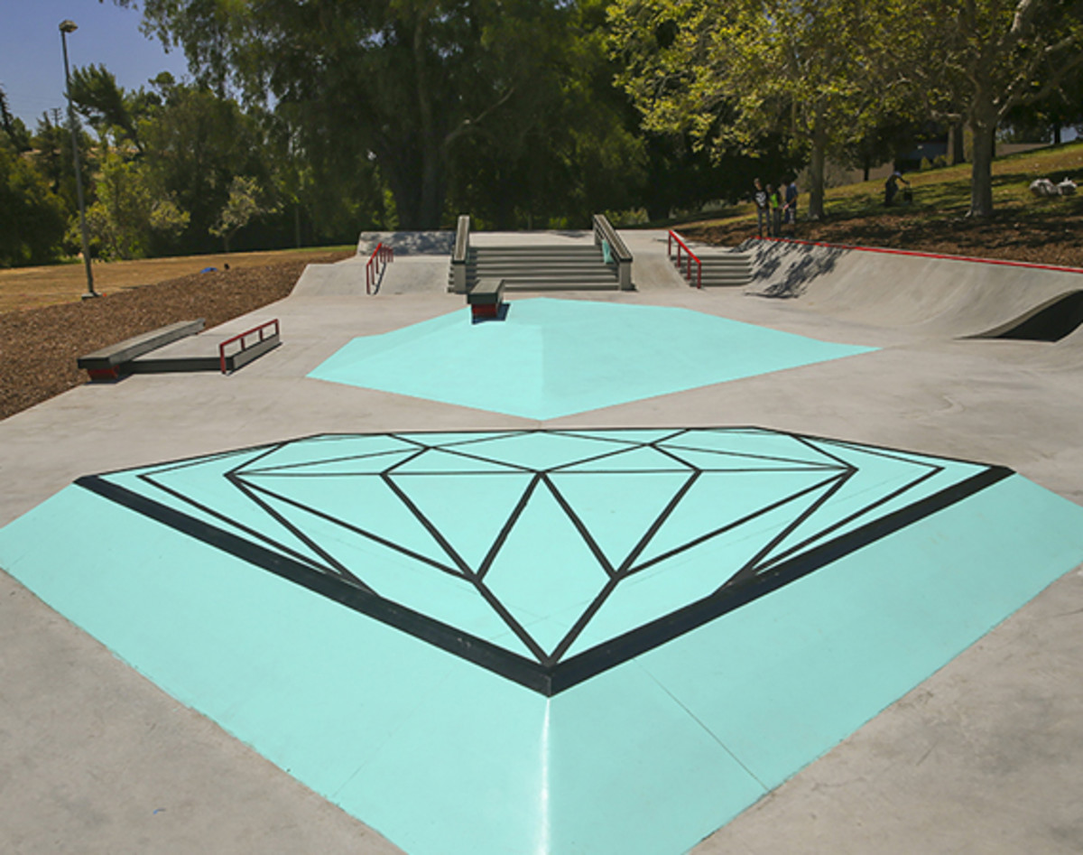 It Must Feel Awesome To Be A Skateboarder In Los Angeles As Diamond Supply Co Just Opened Brand New Public Skate Plaza Dubbed The