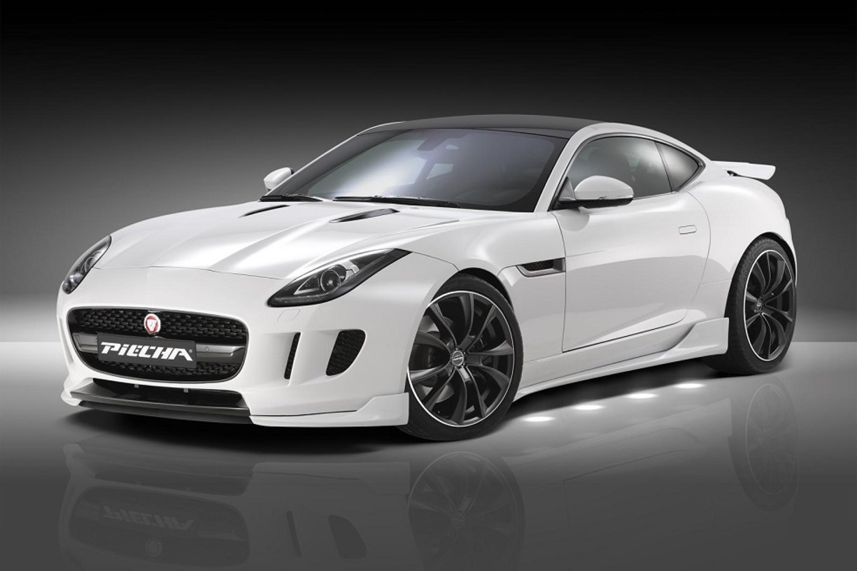 Jaguar F Type Evolution 3 0 V6 Coupe Tuned By Piecha Designs