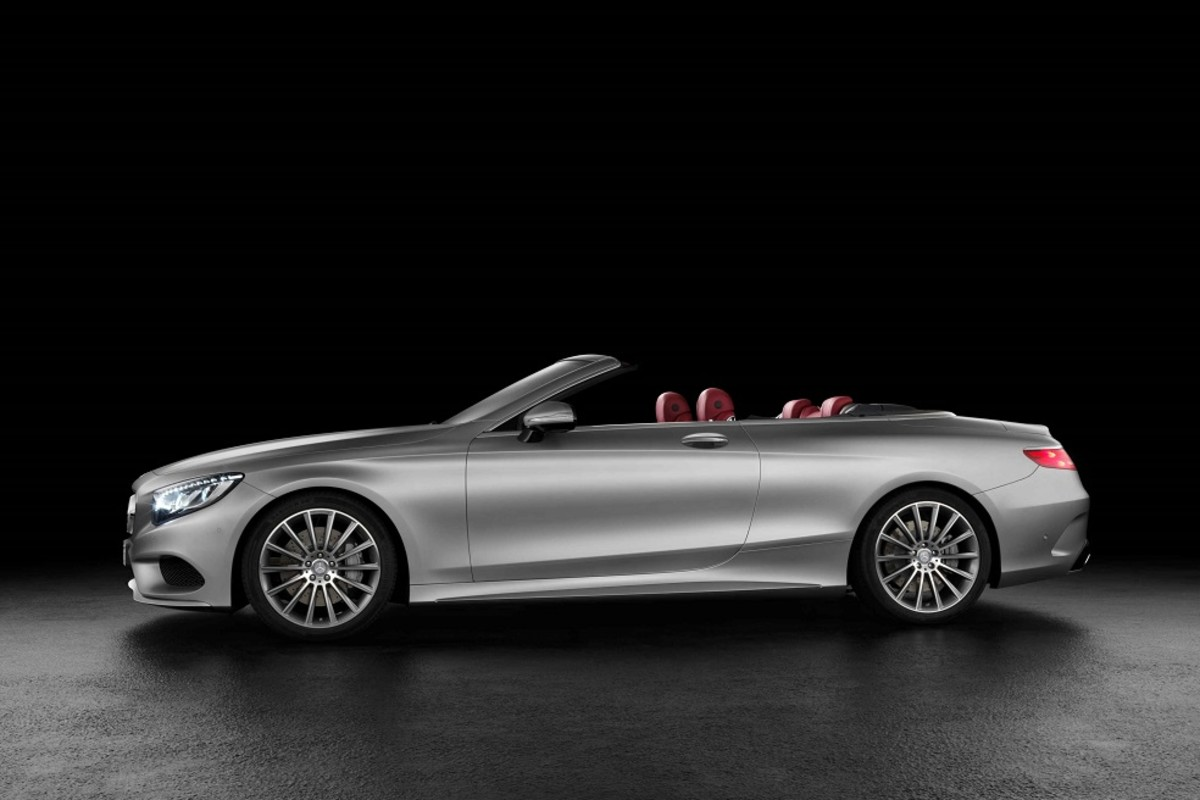 2017 Mercedes-Benz S-Class Cabriolet - Unveiled - Freshness Mag