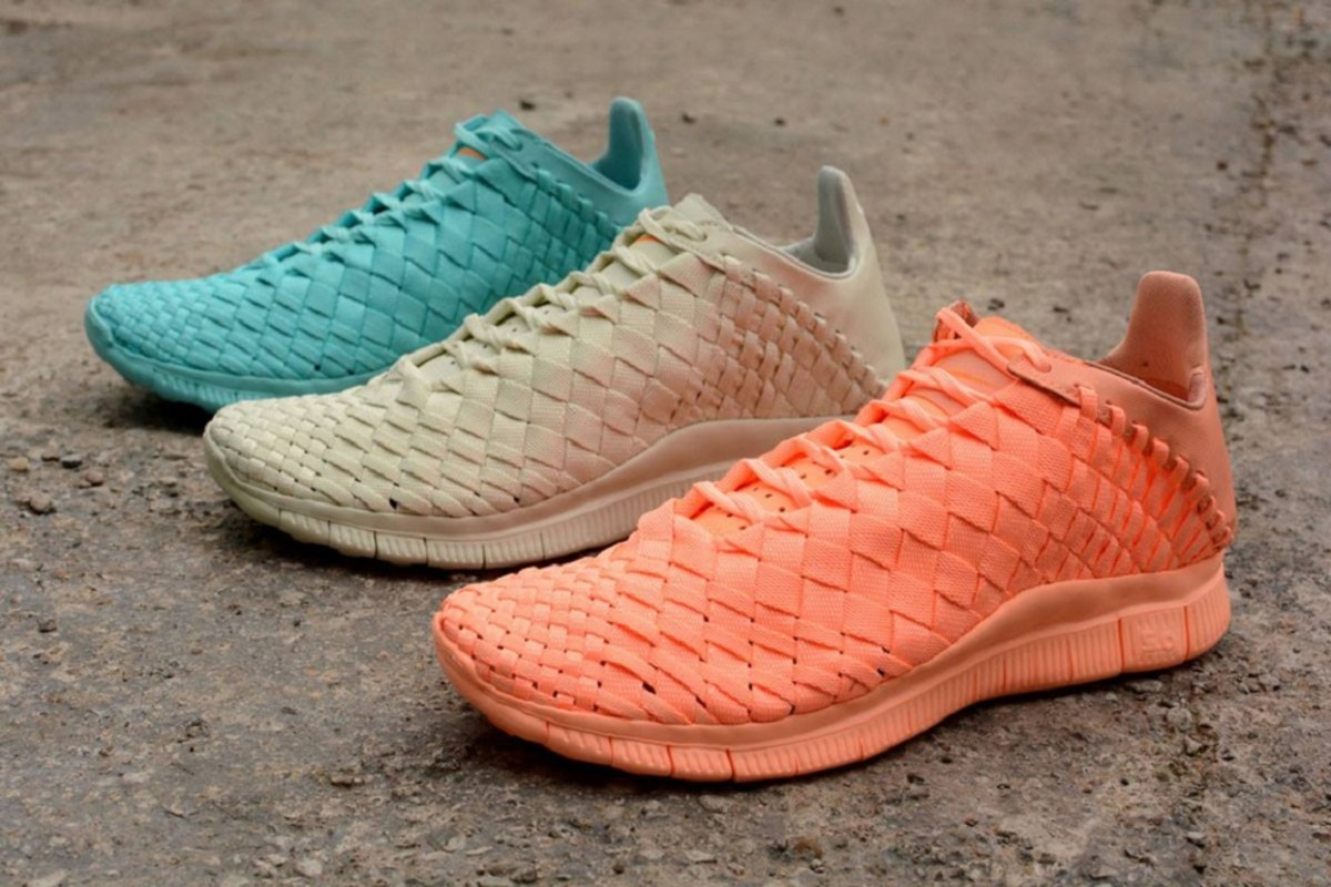 wholesale dealer 0a70c 8a0d3 Fans of the Swoosh s lightweight, breezy Nike Free Inneva Woven are in for  a treat with this release of three new tonal colorways.