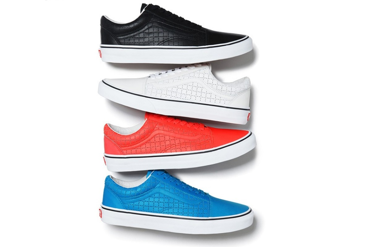 0fd403fdb32e0c Supreme x Vans Summer 2015 Old Skool Collection - Freshness Mag