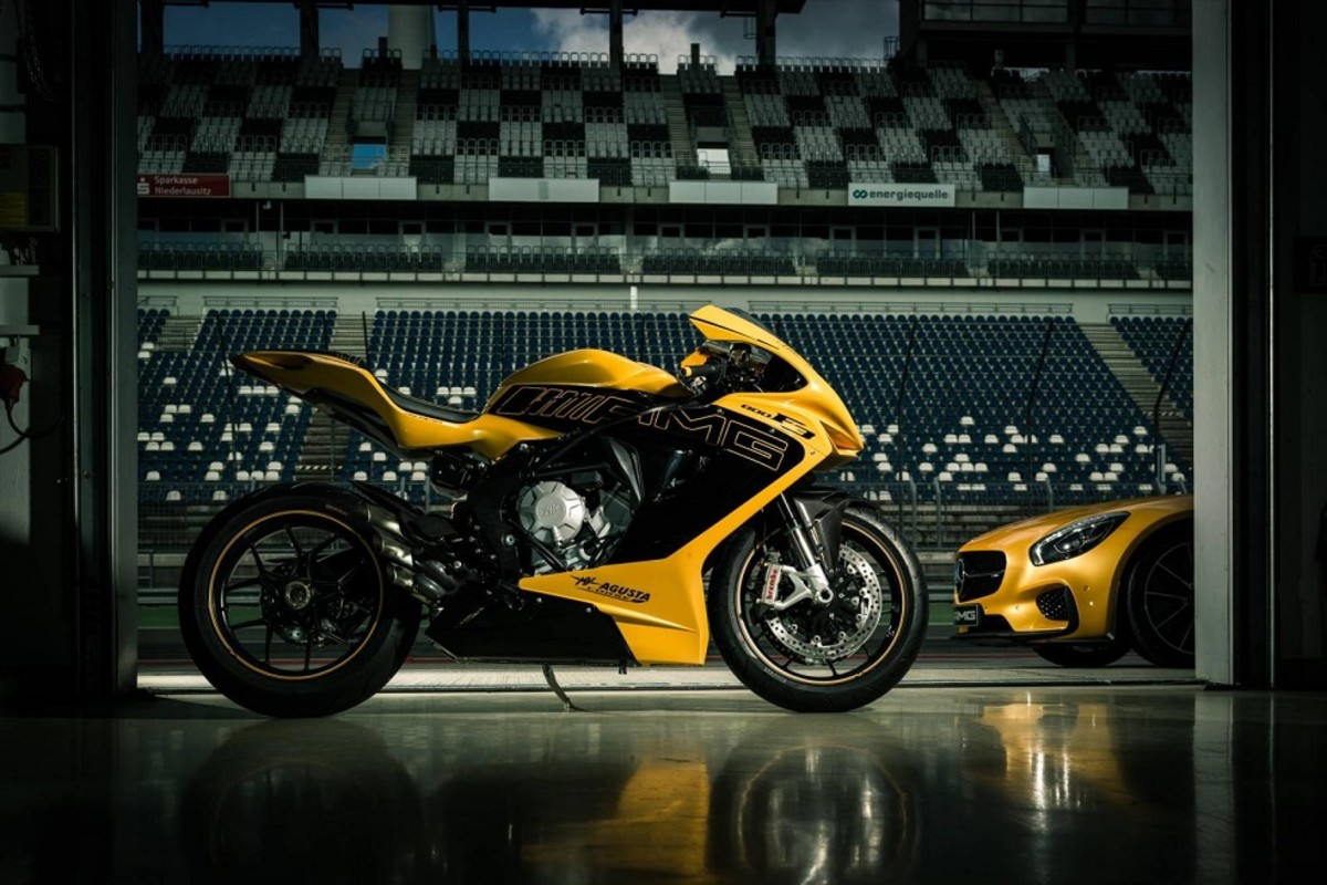 Mercedes Benz Of Augusta >> The One-Off Mercedes-AMG x MV Agusta F3 800 Unveiled ...