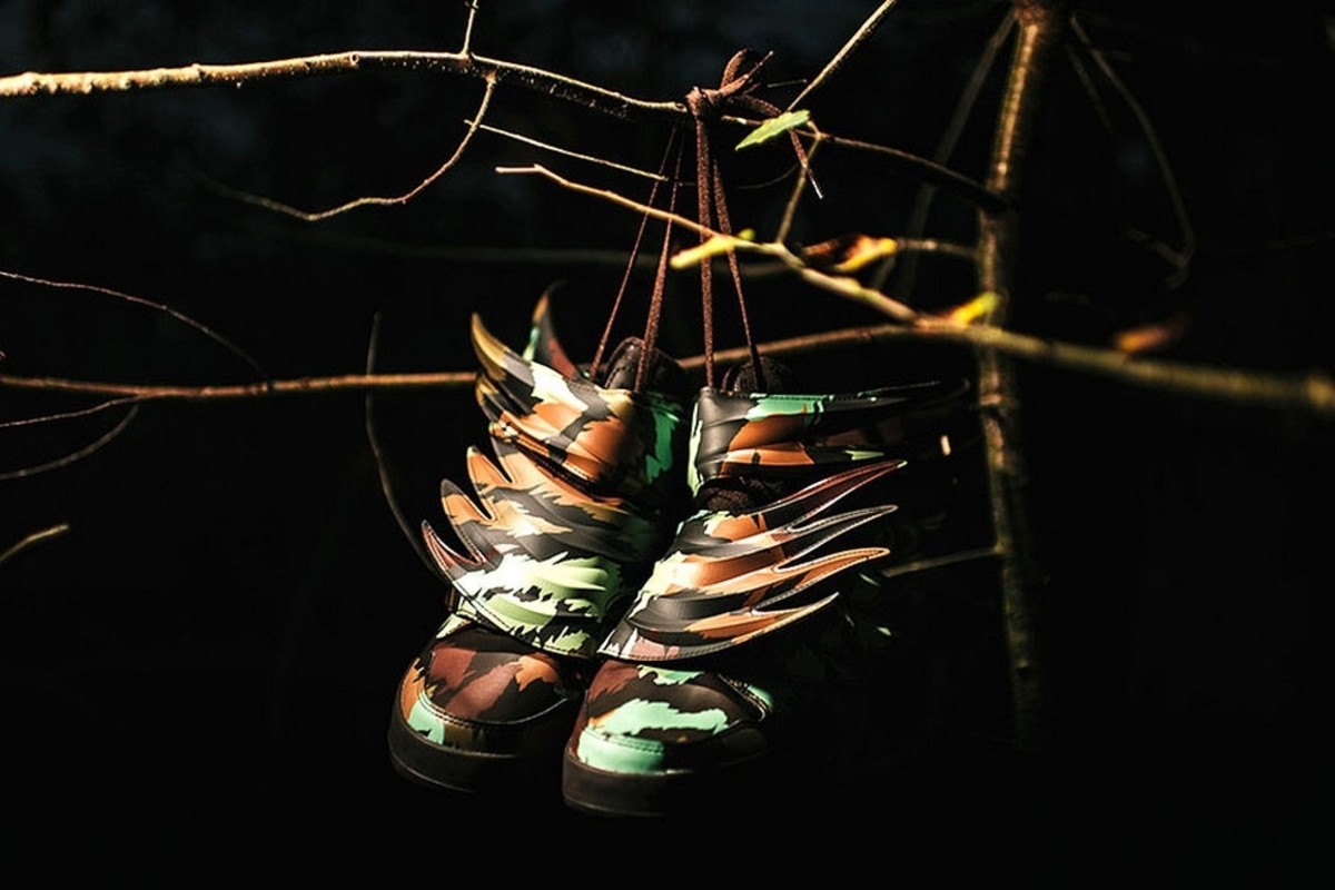 Jeremy Scott Goes Wild with the adidas Originals Wings 3.0 Sauvage ... 308a8cd6d7