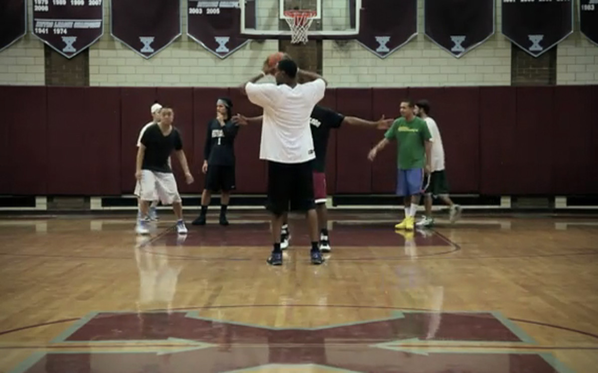 Shot on the court of New York City's Xavier High School, Nike Basketball  asked players from Nike Recess Federation (NRF) whether or not they have ...