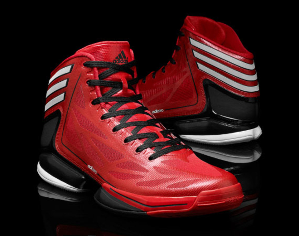 Adizero Crazy Light Black White Adidas 2 Basketball Shoes Economic