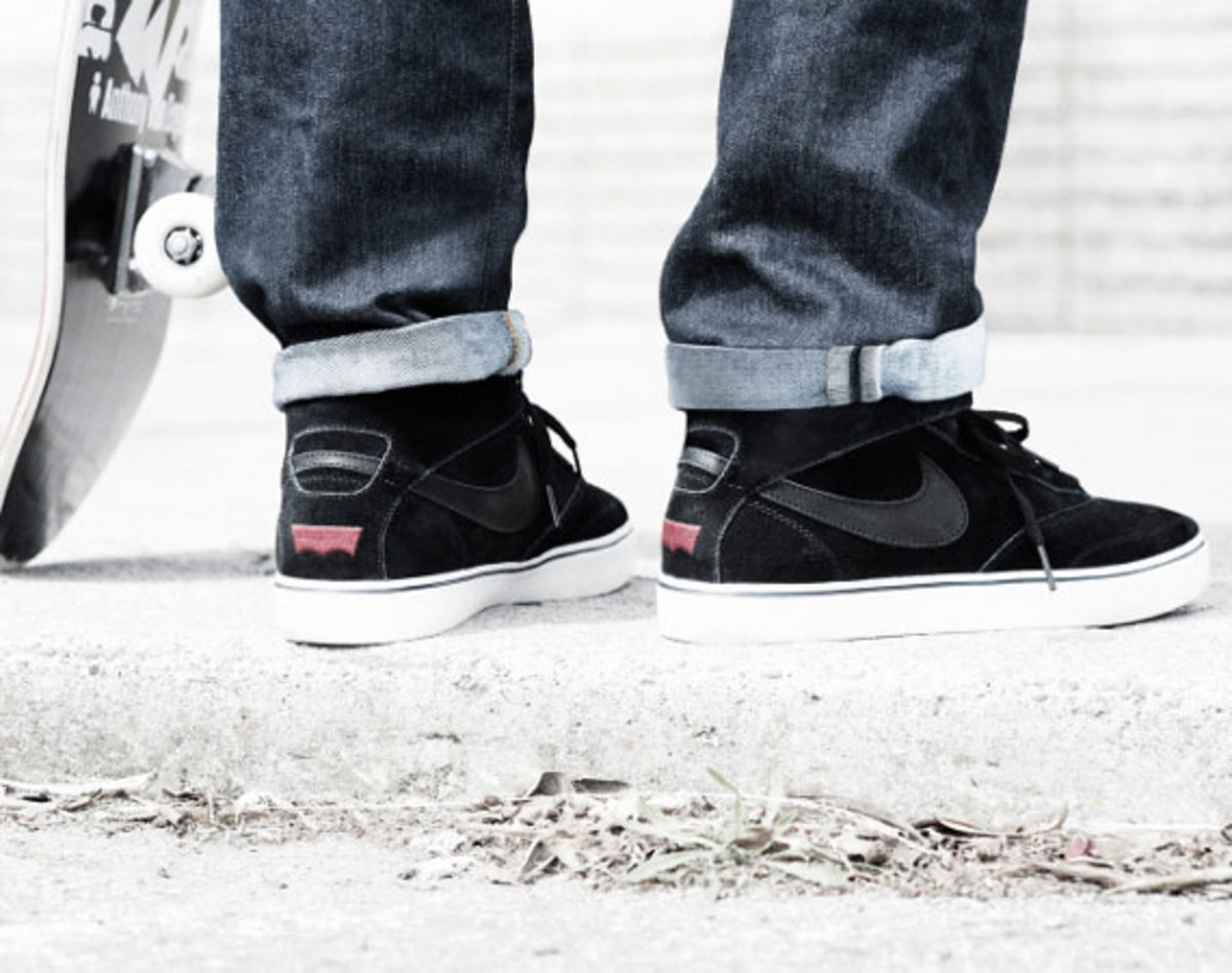 cheap for discount 46b26 d8943 Worlds collide next month when the joint venture between heavyweights Nike  SB and Levi s lands at select global retailers. A key component of the  project ...