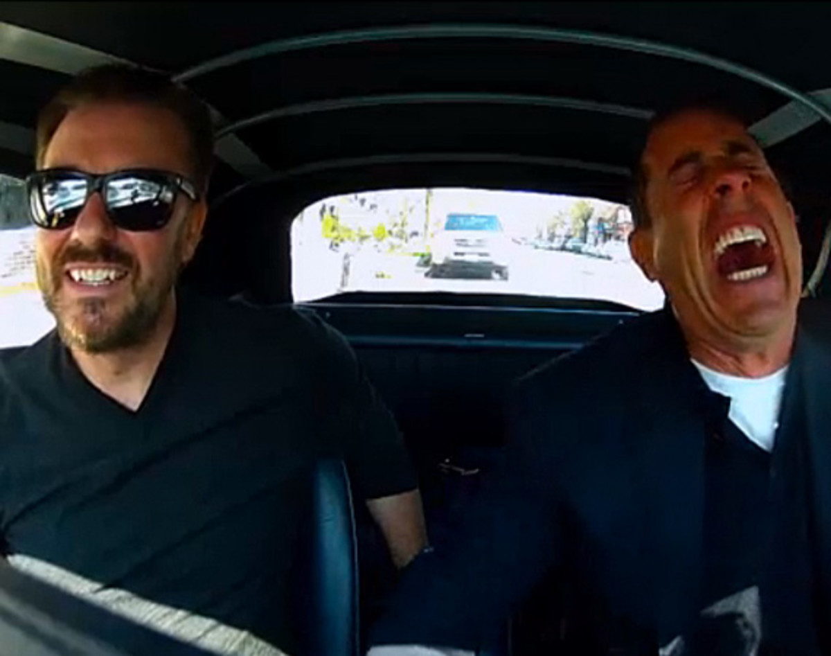 Driving In Cars With Comedians Ricky Gervais