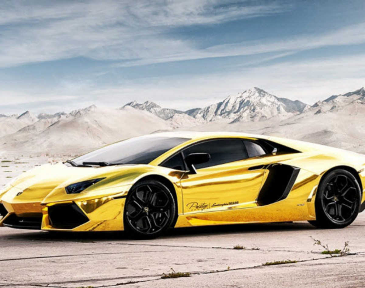 Lamborghini Aventador Lp 700 4 Project Au 79 Gold Custom Edition Video Freshness Mag