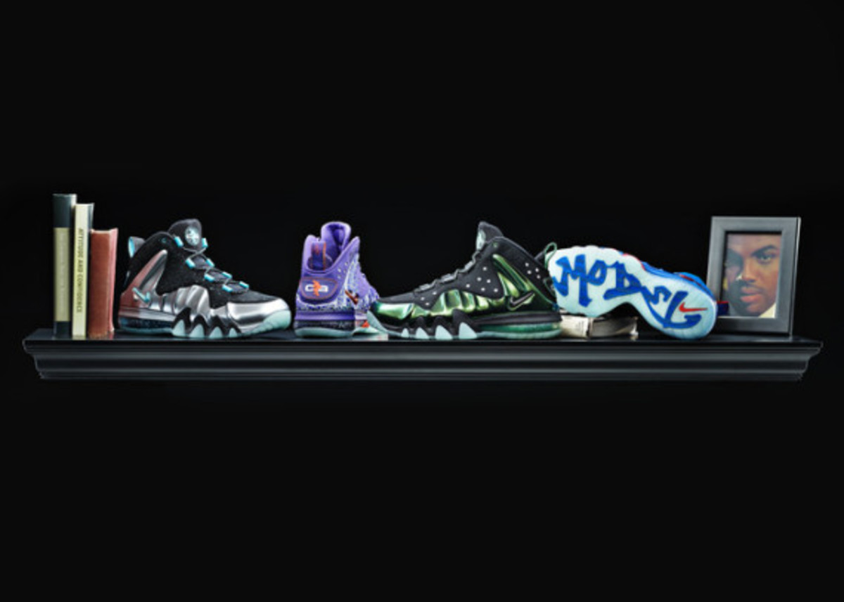 Charles Barkley: Past Meets Present in Nike Barkley Posite Max - 12