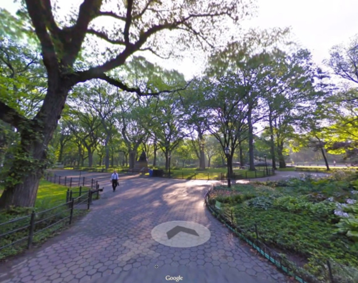 Google Maps - Exploring Central Park Through Street View - Freshness on