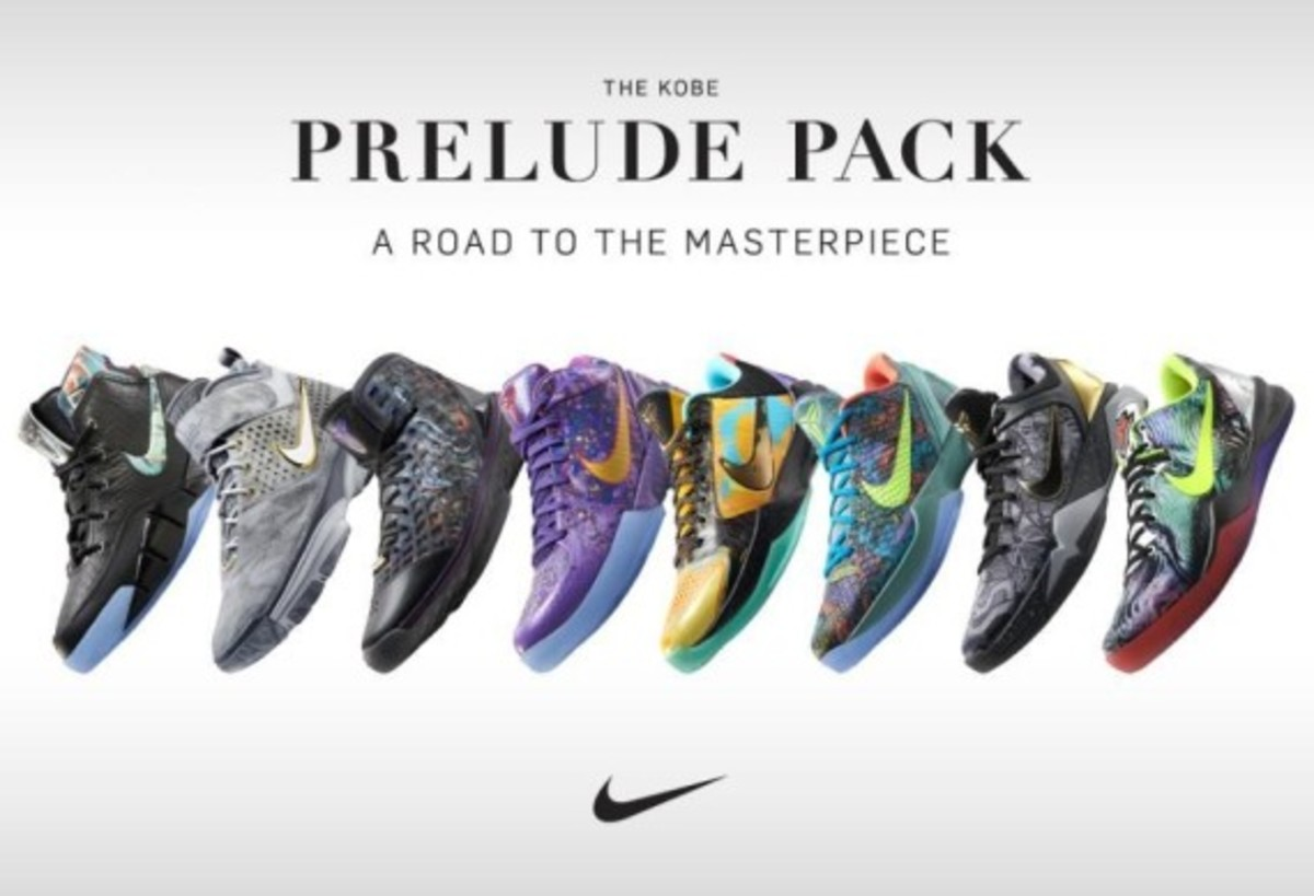 "Nike Kobe ""Prelude"" Collection"