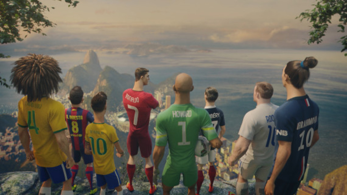 """asesino Uva Desviarse  Nike Soccer - """"The Last Game"""" Animated Feature Film 