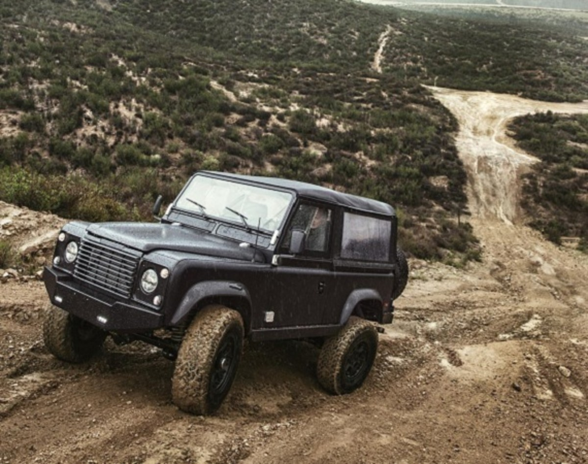 Icon D90 Land Rover Freshness Mag