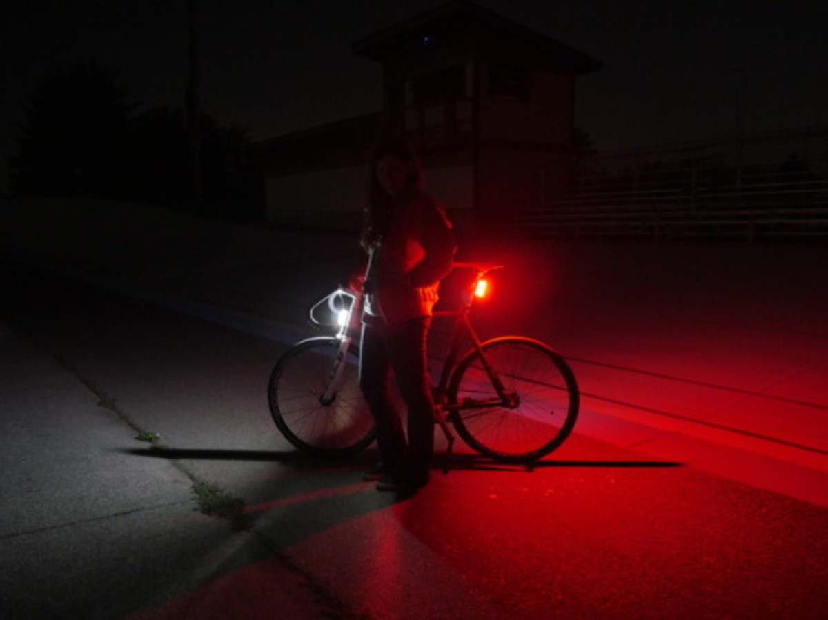 Orfos Flare - Bike Light With 360-Degree Visiblity