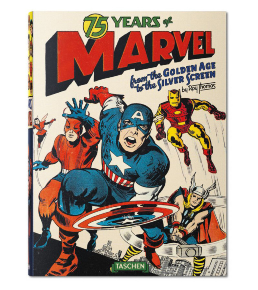 """""""75 Years of Marvel Comics: From the Golden Age to the Silver Screen"""" Book 