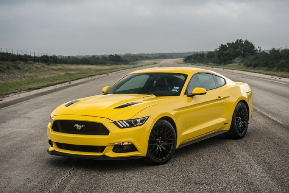 For Those Of You That Thought  Horsepower Was Insane Just Wait Until You Watch Hennessey Hit Mph In A  Hp Ford Mustang Gt