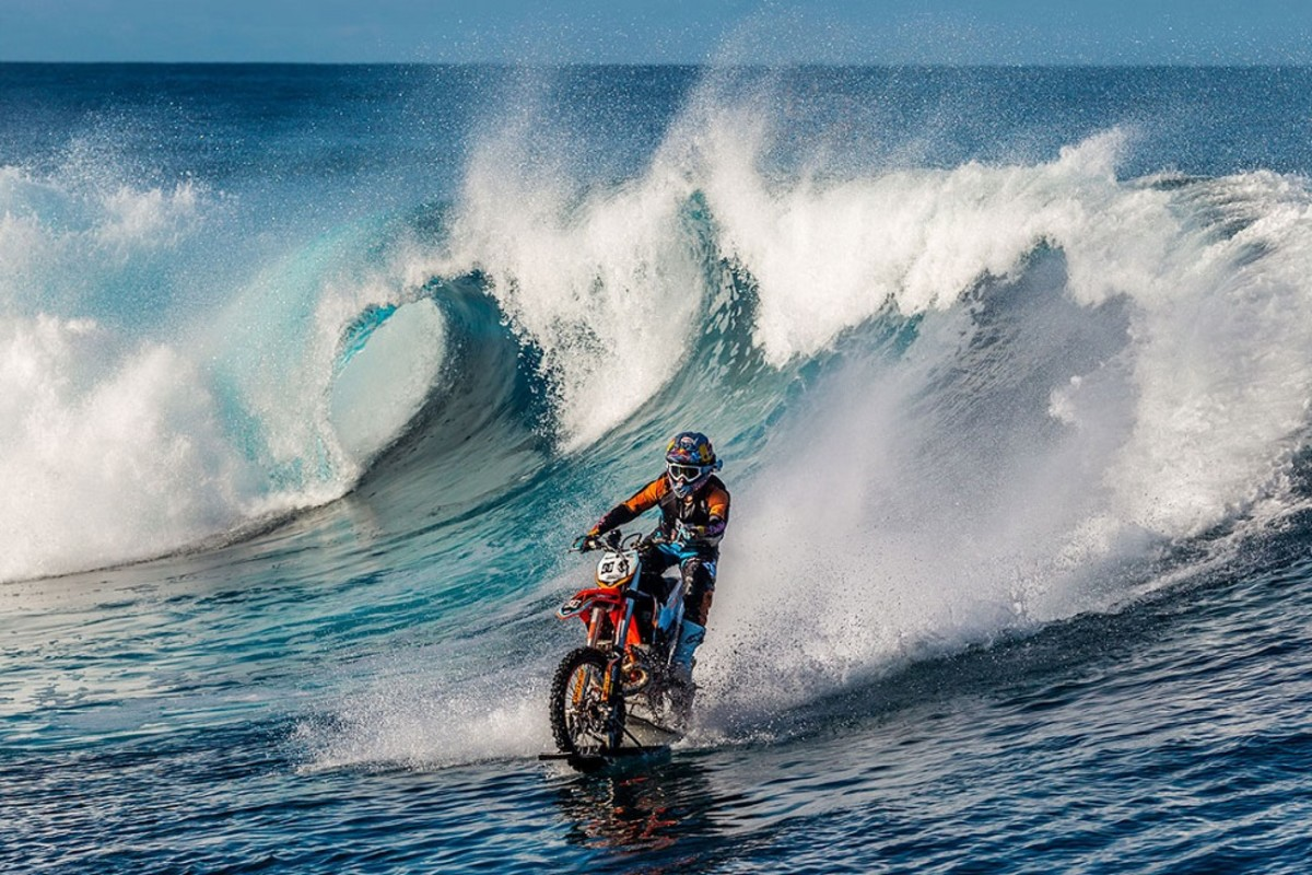 surfing waves on a dirt bike robbie maddison s pipe dream