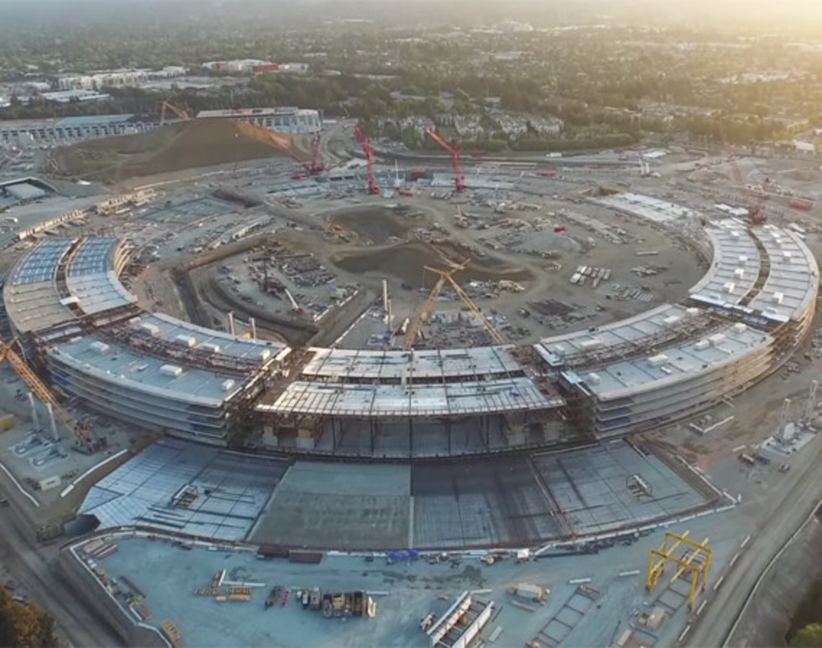 New Aerial Video Shows Progress of Apple Campus 2