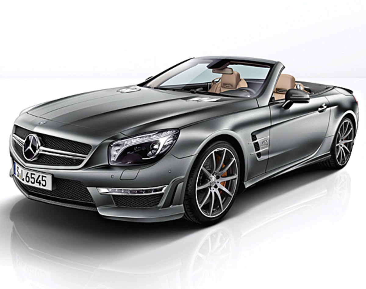 Mercedes benz sl65 amg v12 45th anniversary edition for Mercedes benz v12