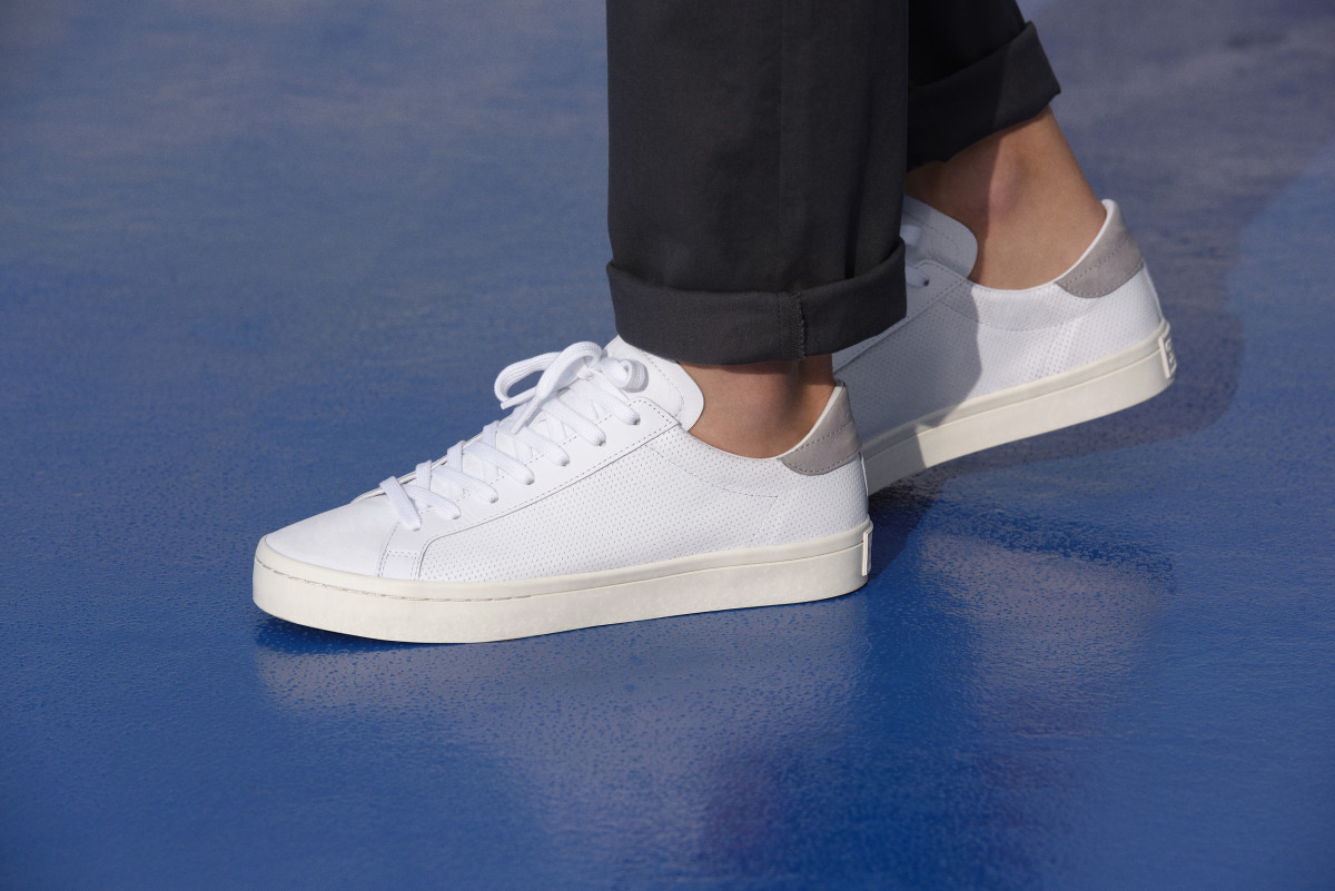 The adidas Originals Court Vantage Is Your Go-To Spring Sneaker ... b141af031
