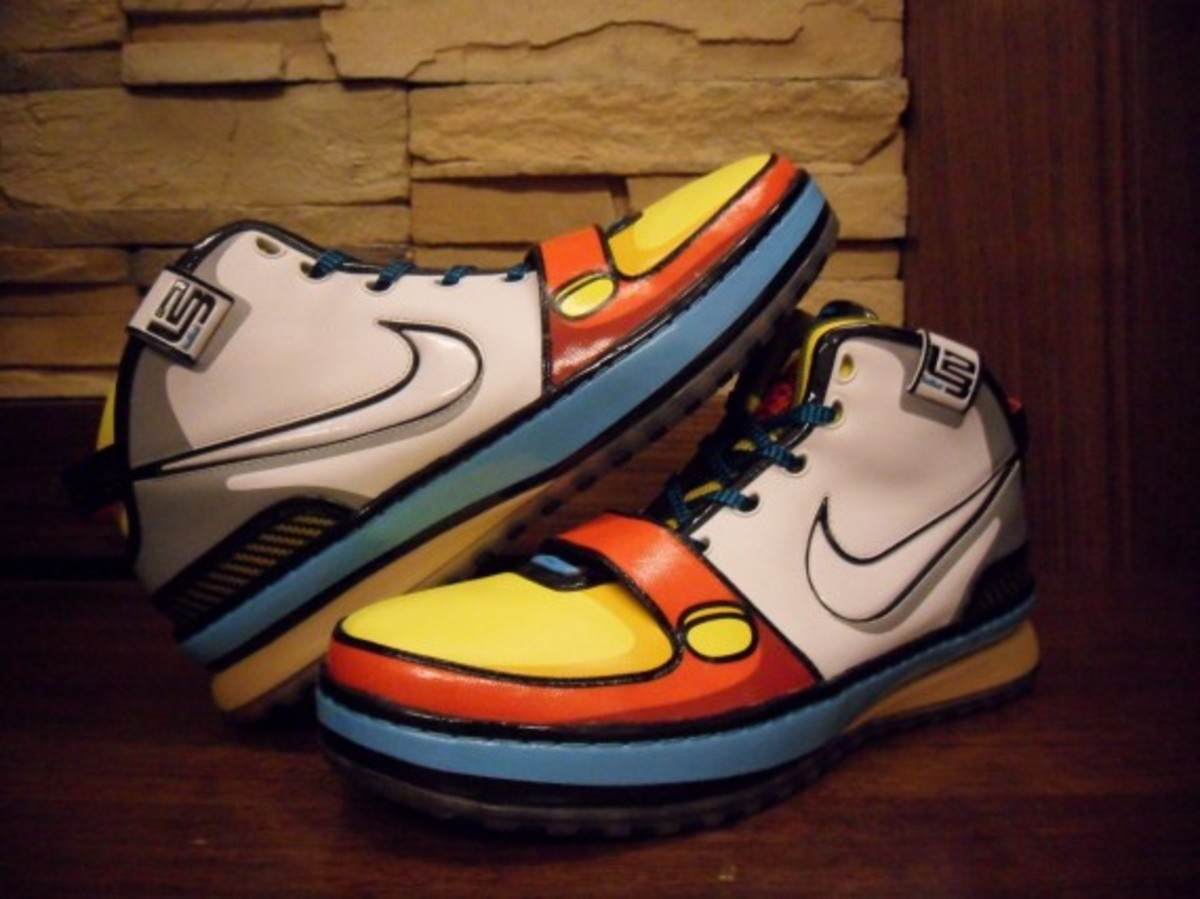 06c2cc3007a51 Nike Zoom Lebron VI - Stewie Griffin - Unreleased Sample - Freshness Mag
