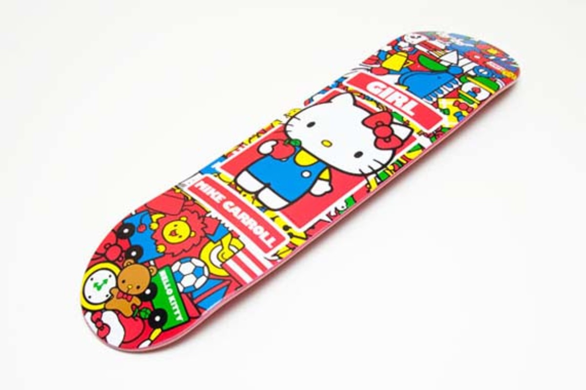 Girl Skateboard X Hello Kitty 35th Anniversary Collection