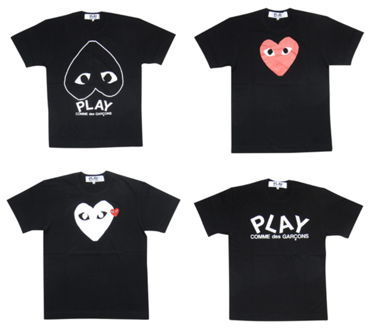 efff25b18168 COMME des GARçONS PLAY BOX x EXI.T - Collaboration T-Shirts - Freshness Mag