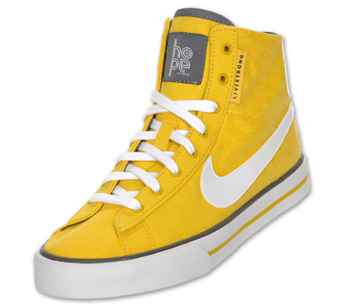 half off 253ac 54701 LIVESTRONG x Nike WMNS Sweet Classic High  Bicycle Print